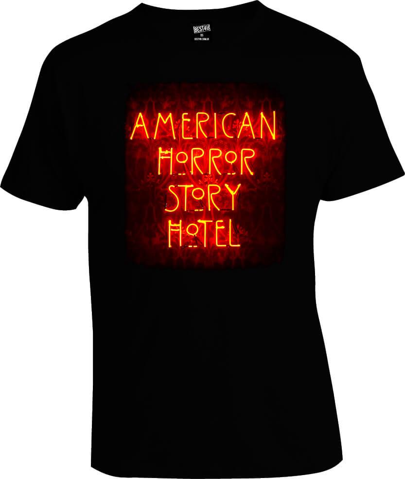 Футболка American Horror Story Hotel Fire