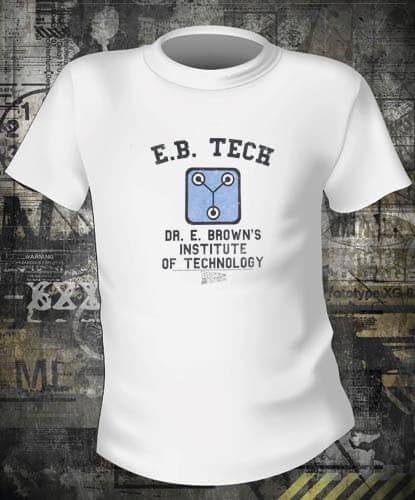 Футболка Back To The Future EB Tech