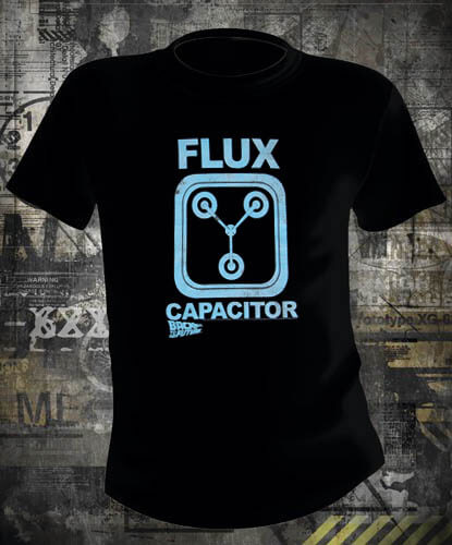 Футболка Back To The Future Flux Capacitor