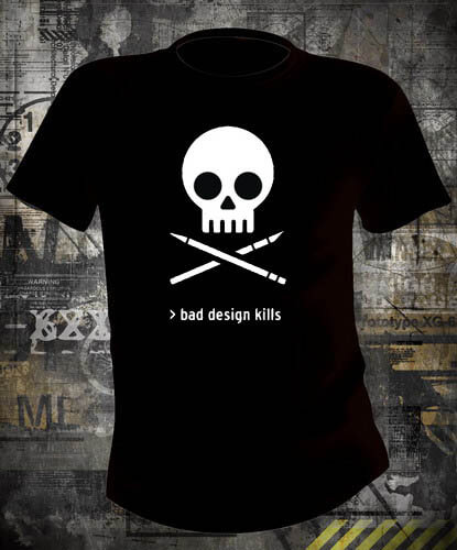 Футболка Bad Design Kills