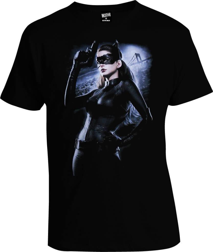 Футболка Batman Catwoman With Pistol