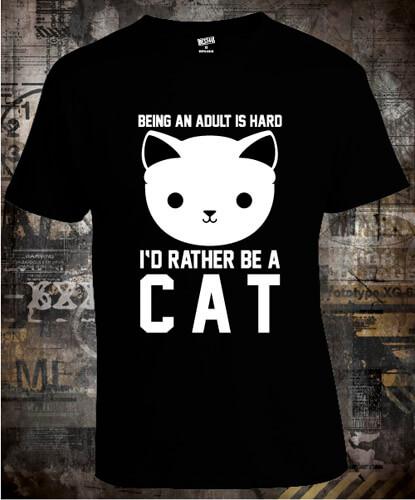 Футболка Be A Cat