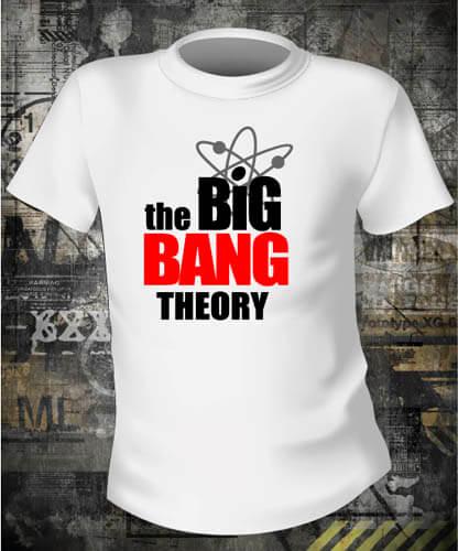 Футболка Big Bang Theory