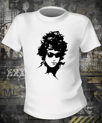 Футболка Bob Dylan