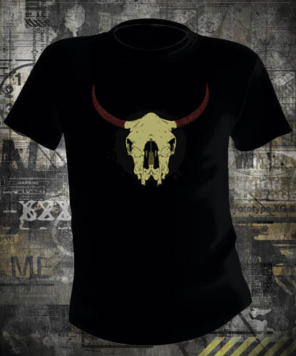 Футболка Bull Skull