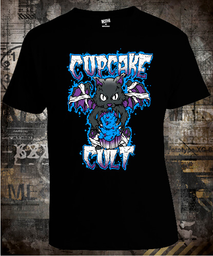 Футболка Cupcake Cult Black Cat