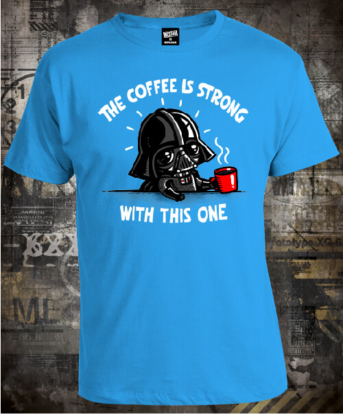 Футболка Darth Мader The Coffee is Strong