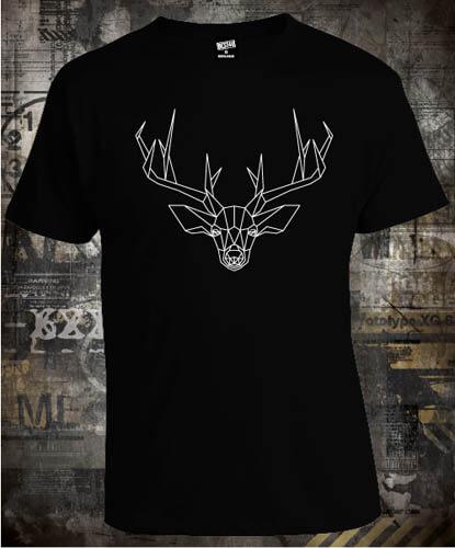 Футболка Deer Lines