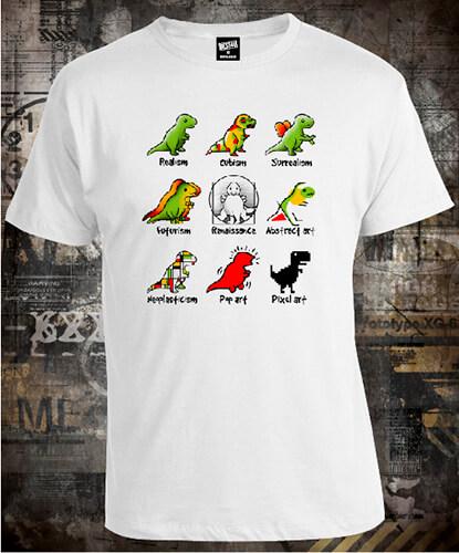 Футболка Dino Art Styles