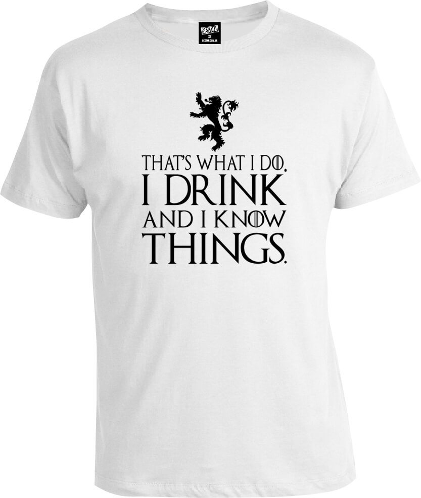 Футболка Game of Thrones That's What I Do I Drink