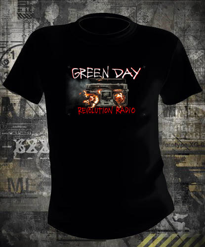 Футболка Green Day Revolution Radio