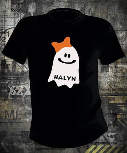 Футболка Halloween Happy Ghost