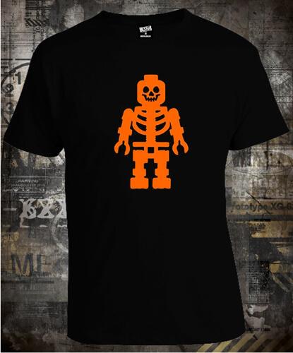 Футболка Halloween Lego Skeleton