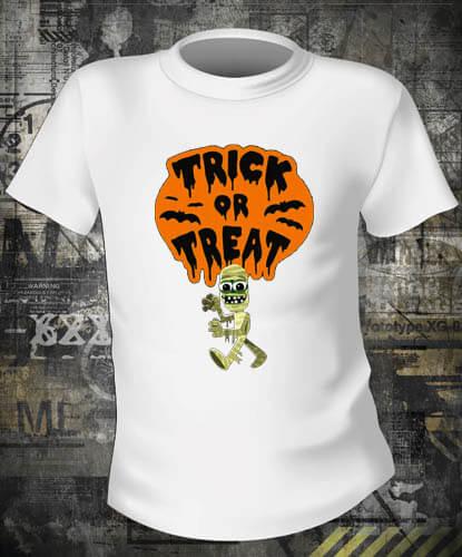 Футболка Halloween Mummy Trick Or Treat