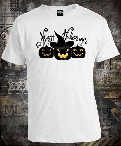 Футболка Halloween Pumpkins
