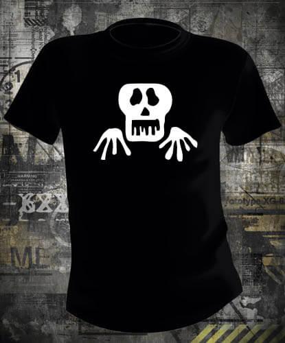 Футболка Halloween Skeleton