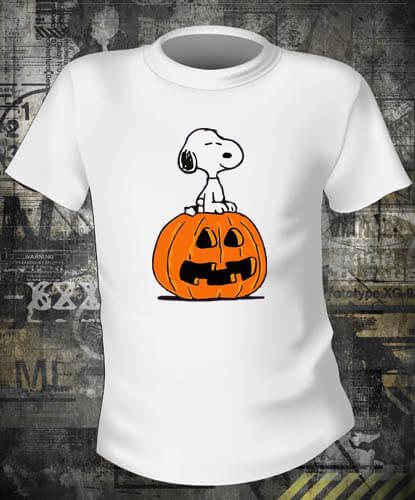 Футболка Halloween Snoopy
