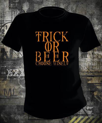 Футболка Halloween Trick or Beer