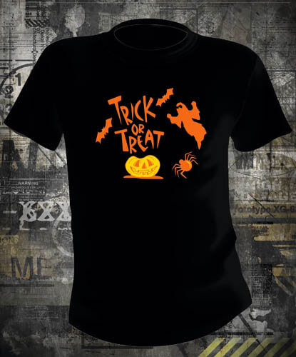 Футболка Halloween Trick or Treat 2