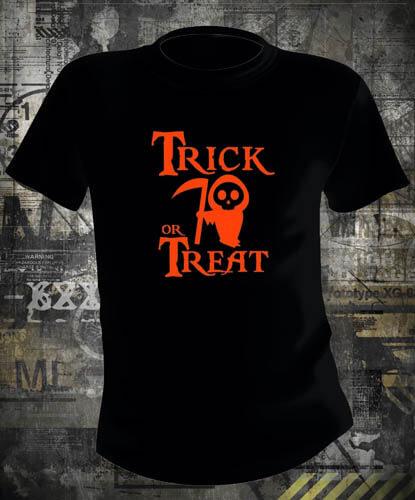 Футболка Halloween Trick Or Treat Death