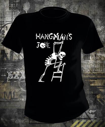 Футболка Hangmans Joke