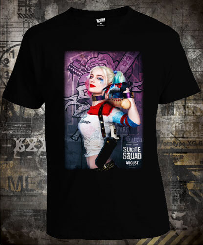 Футболка Harley Quinn Suicide Squad Poster