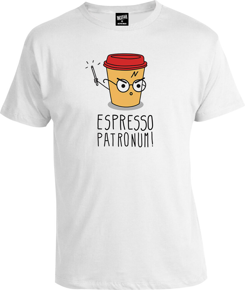 Футболка Harry Potter Espresso Patronum
