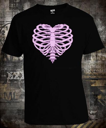 Футболка Heart Skeleton