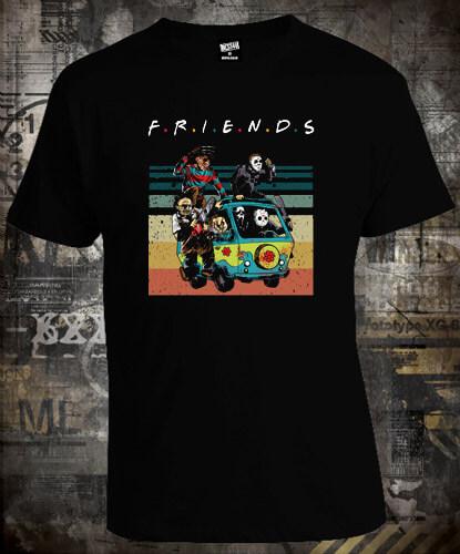 Футболка Horror Friends Scooby Doo