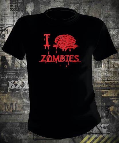 Футболка I Brain Zombies