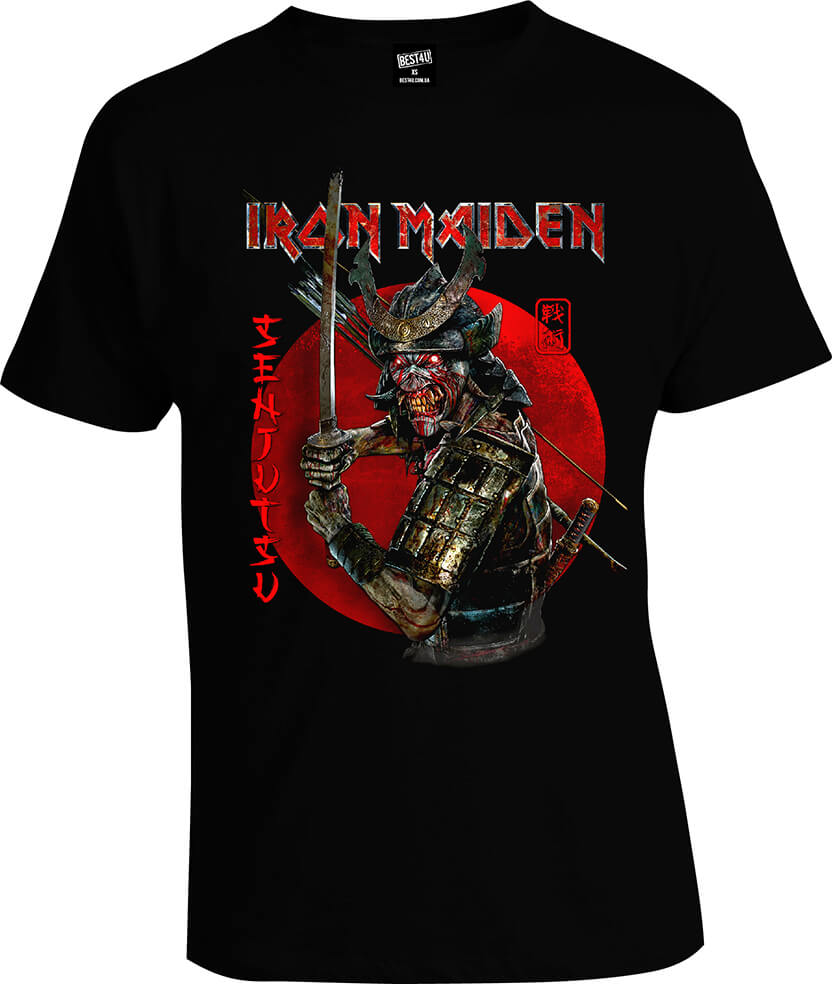 Футболка Iron Maiden Senjutsu Black