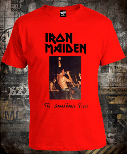 Футболка Iron Maiden The Soundhouse Tapes