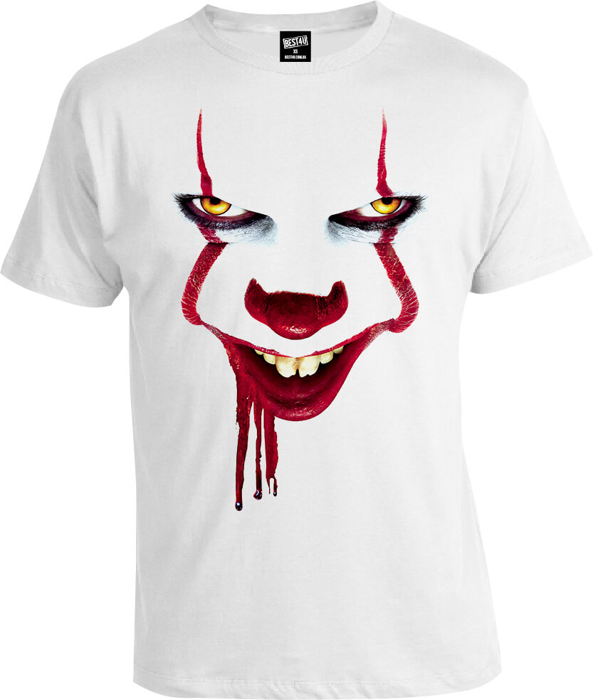 Футболка It Stephen King New Pennywise