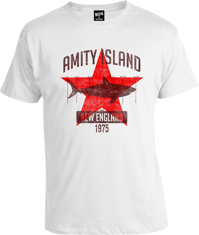 Футболка Jaws Amity Island 1975