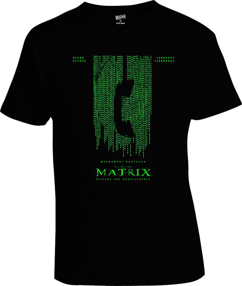 Футболка Matrix Phone Code
