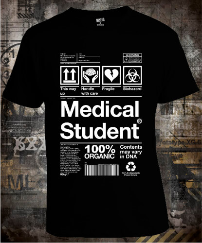 Футболка Medical Student