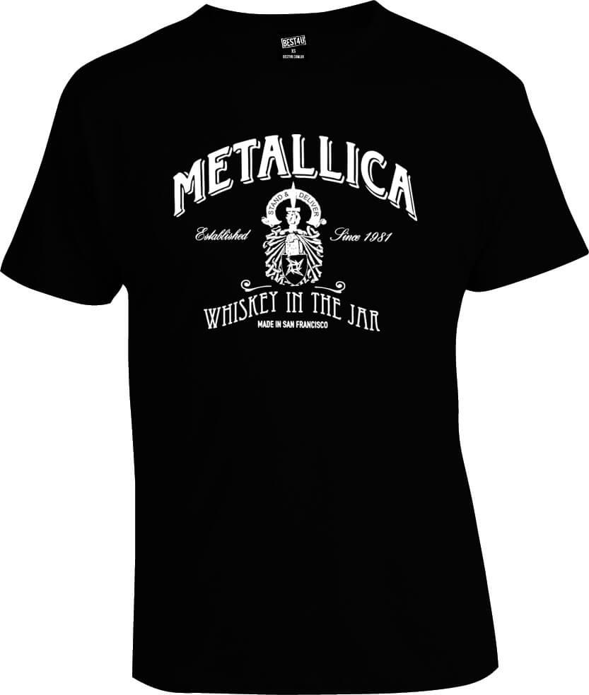 Футболка Metallica Whiskey in the Jar