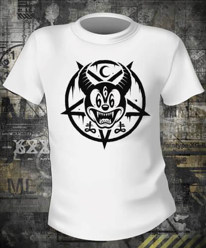 Футболка Mickey 666
