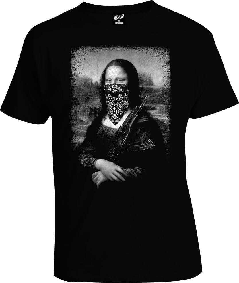 Футболка Mona Lisa Gangsta