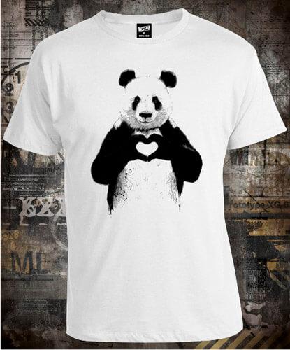Футболка Panda All You Need Is Love