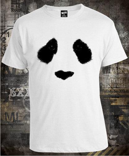 Футболка Panda Face