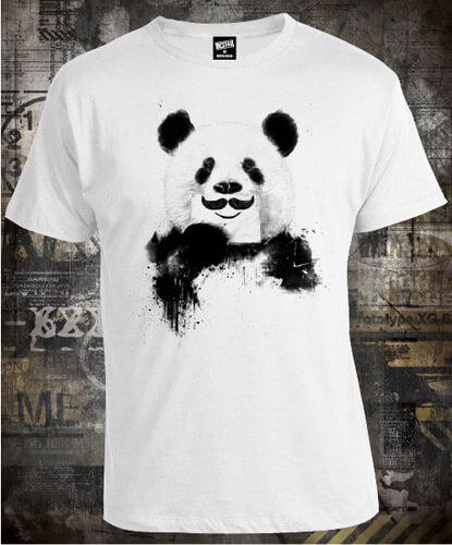 Футболка Panda Mustache