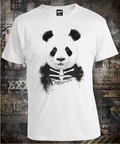 Футболка Panda Skeleton