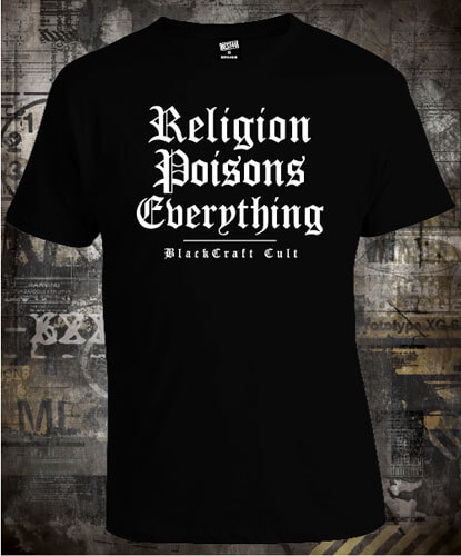 Футболка Religion Poisons Everything