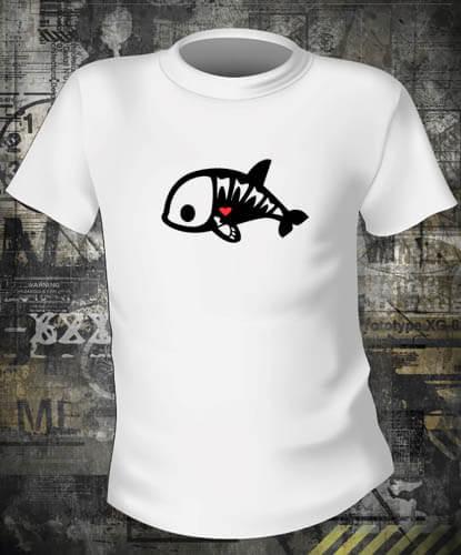 Футболка Skelanimals Killer Whale