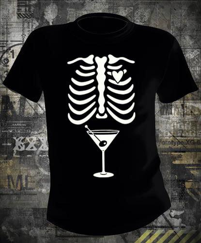 Футболка Skeleton Drink