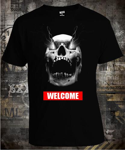 Футболка Skull Welcome