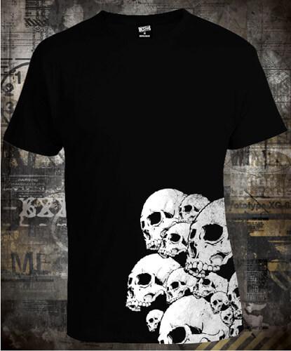 Футболка Skulls Side