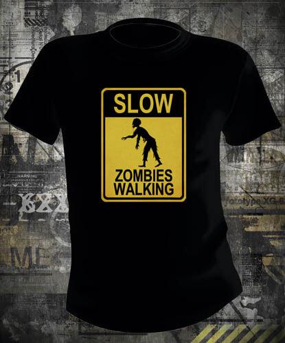 Футболка Slow Zombies Walking