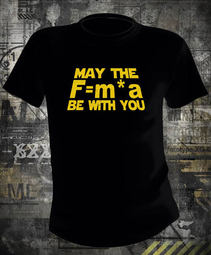 Футболка Star Wars May the Force Be With You